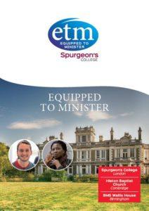ETM Course Leaflet